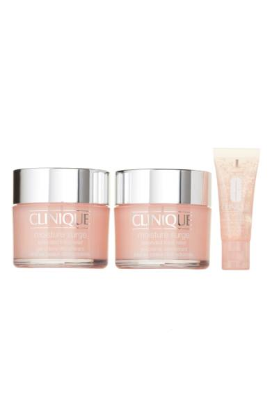 Clinique Thirst Quenchers Set - Clinique's moisture surge products are my favorite for moisturizing when my skin is feeling extra dry, so I love using it for winter. It's a really wet gel consistency that feels so refreshing on your skin and it really helps inject moisture back into your face. Sale: $99.00 Value: $146.50