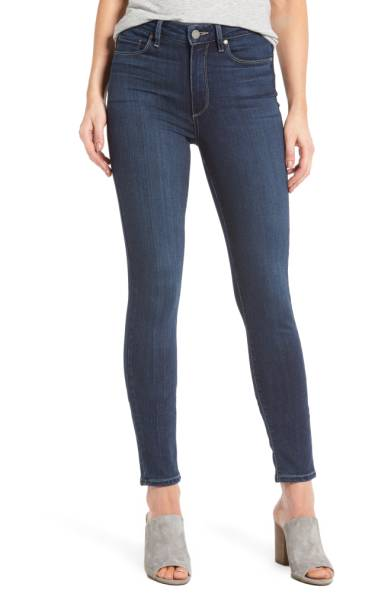 PAIGE Hoxton High Waist Ankle Skinny Jeans - PAIGE is one of my favorite denim brands. They're so comfortable and always have the right combination of stretch and structure.If you want to get yourself a pair, now is the time! Sale: $99.90 After Sale: $189.00