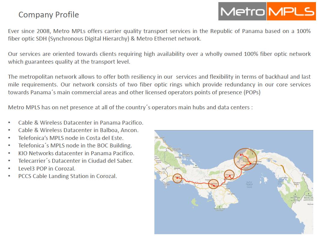Metro MPLS — Advantage