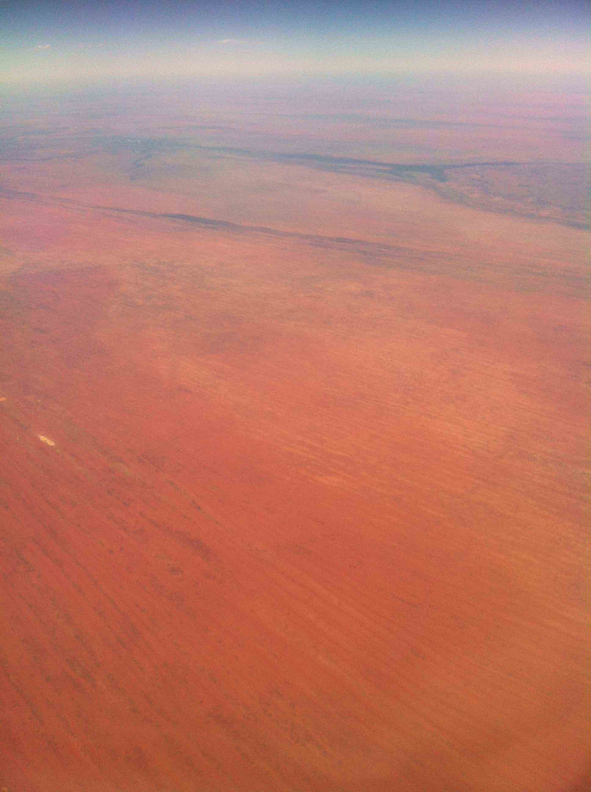 """The at-times-aptly-named(but not always) Australian """"Red Center"""""""