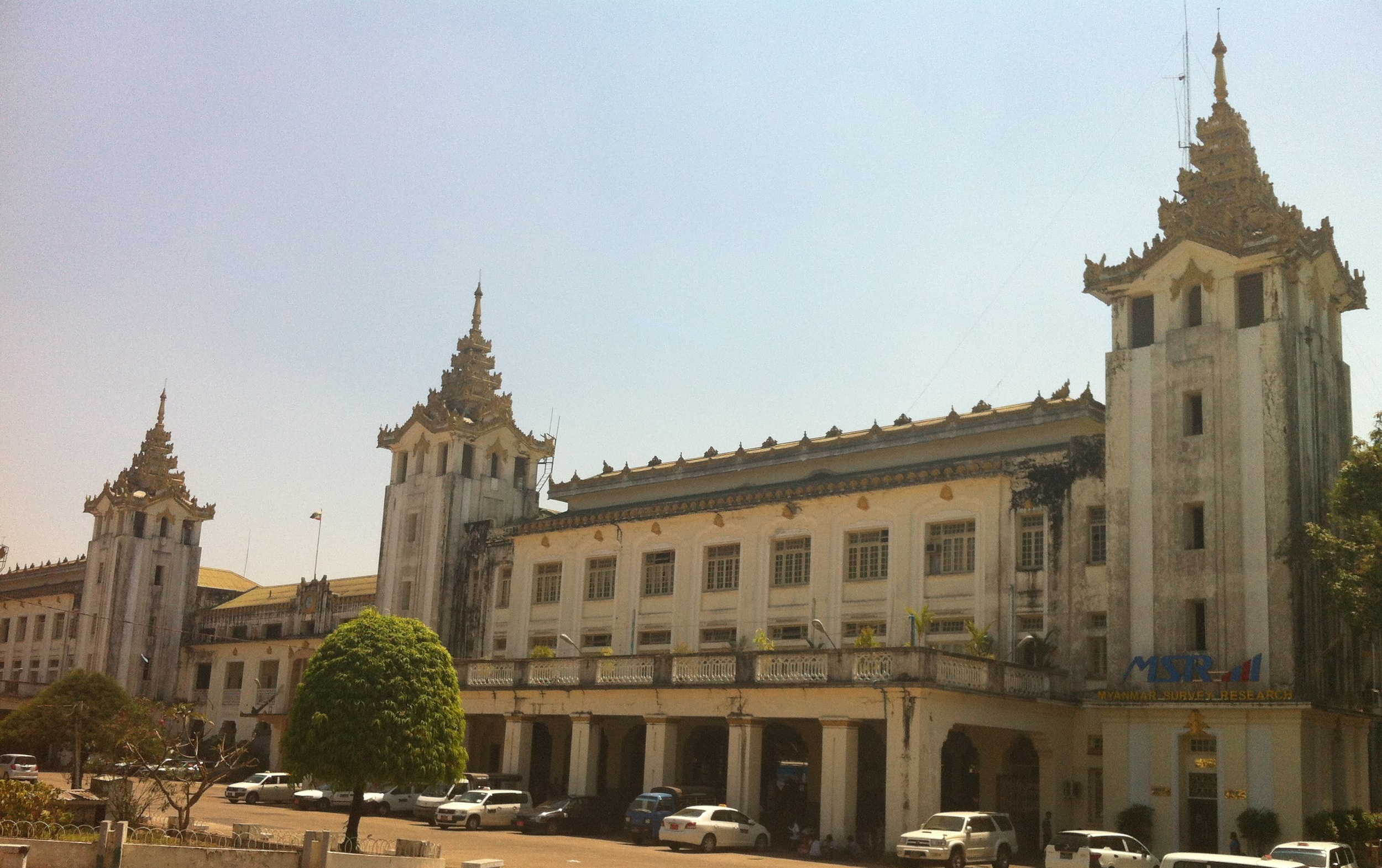 Large government building