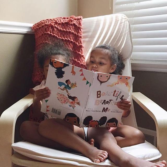 @micharlivy young beauties 😍😍😍😍 #beautifulmecampaign #diversity #childrensbooks #beautifulbeautifulme