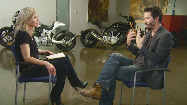 http://www.cbsnews.com/videos/keanu-reeves-passion-for-motorcycles