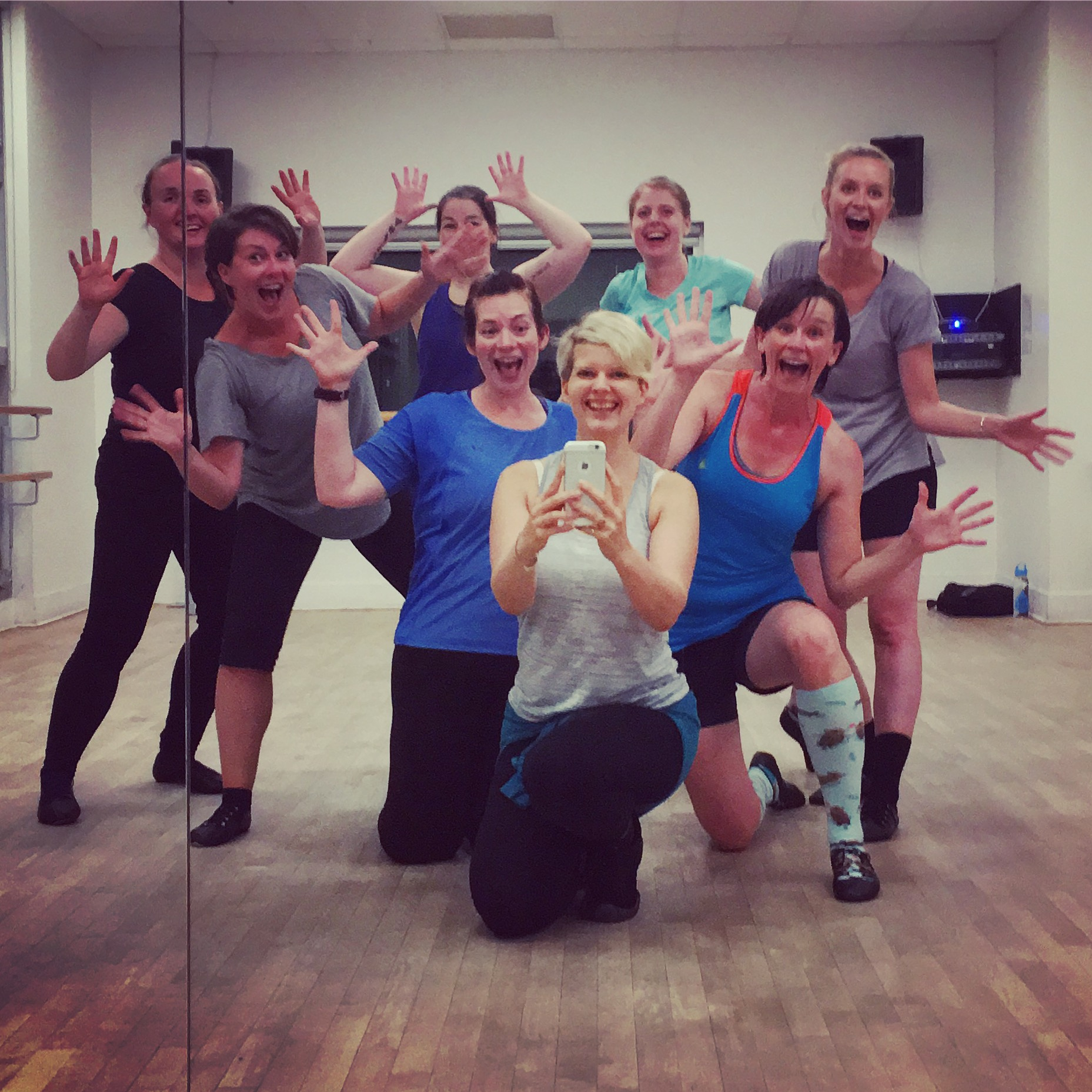Join our fabulous team of adult students! Can you tell we have fun?!!