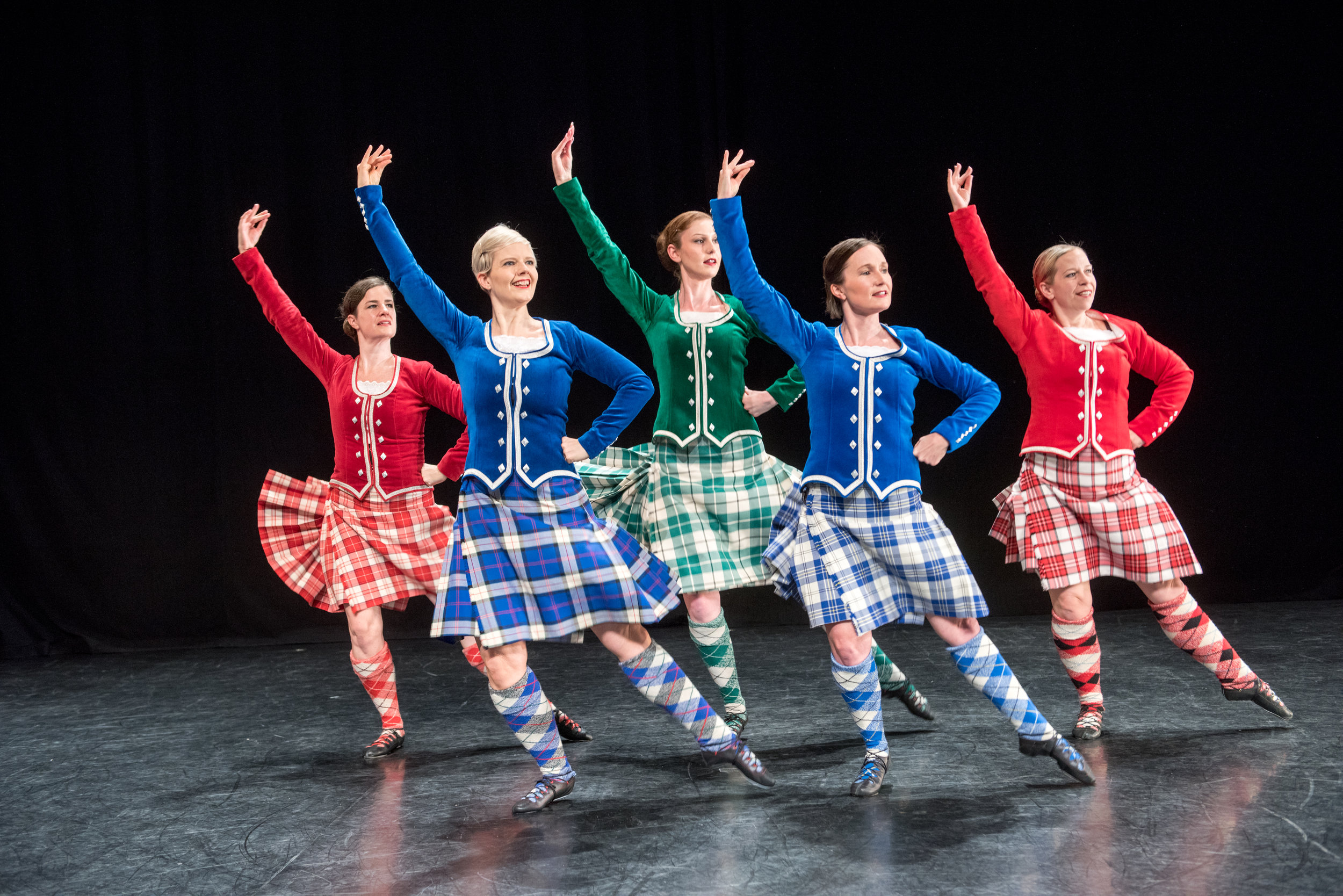 Premier Scottish Highland Dancers