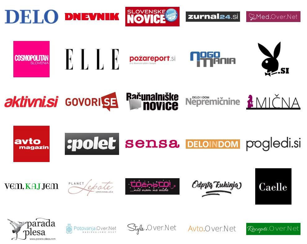 V vodilnih medijih - Vaši oglasi bodo prikazani v vodilnih slovenskih spletnih medijih v kontekstu zelo opaženih gradnikov LIVENETLIFE, ki prikazujejo trenutno najbolj obiskane in zanimive vsebine. Ta hip so gradniki prikazani 1400 obiskovalcem na 1246 straneh.