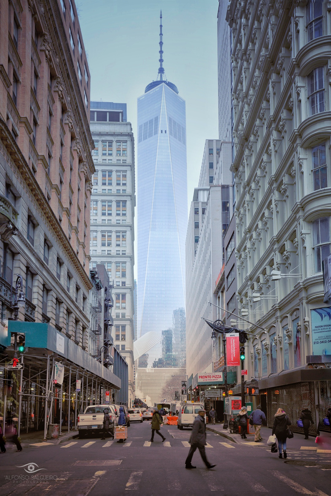 Fulton st with One World Trade center.jpg
