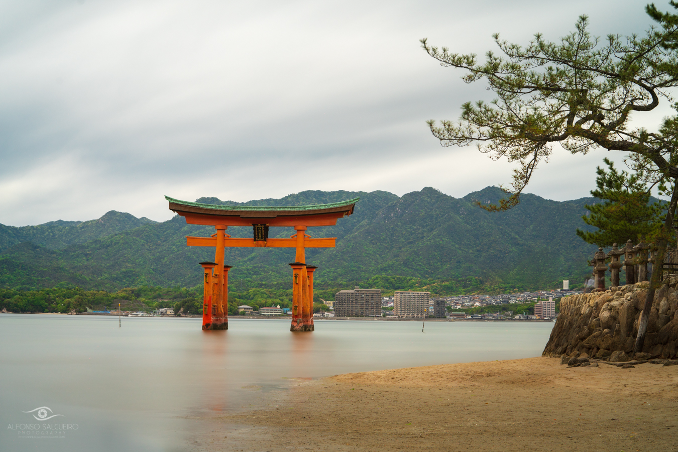 Itsukushima Shrine in Miyajima
