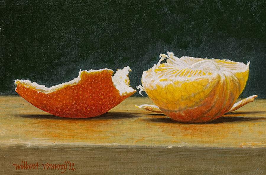 Lekker mandarijntje! | Nice clementine!