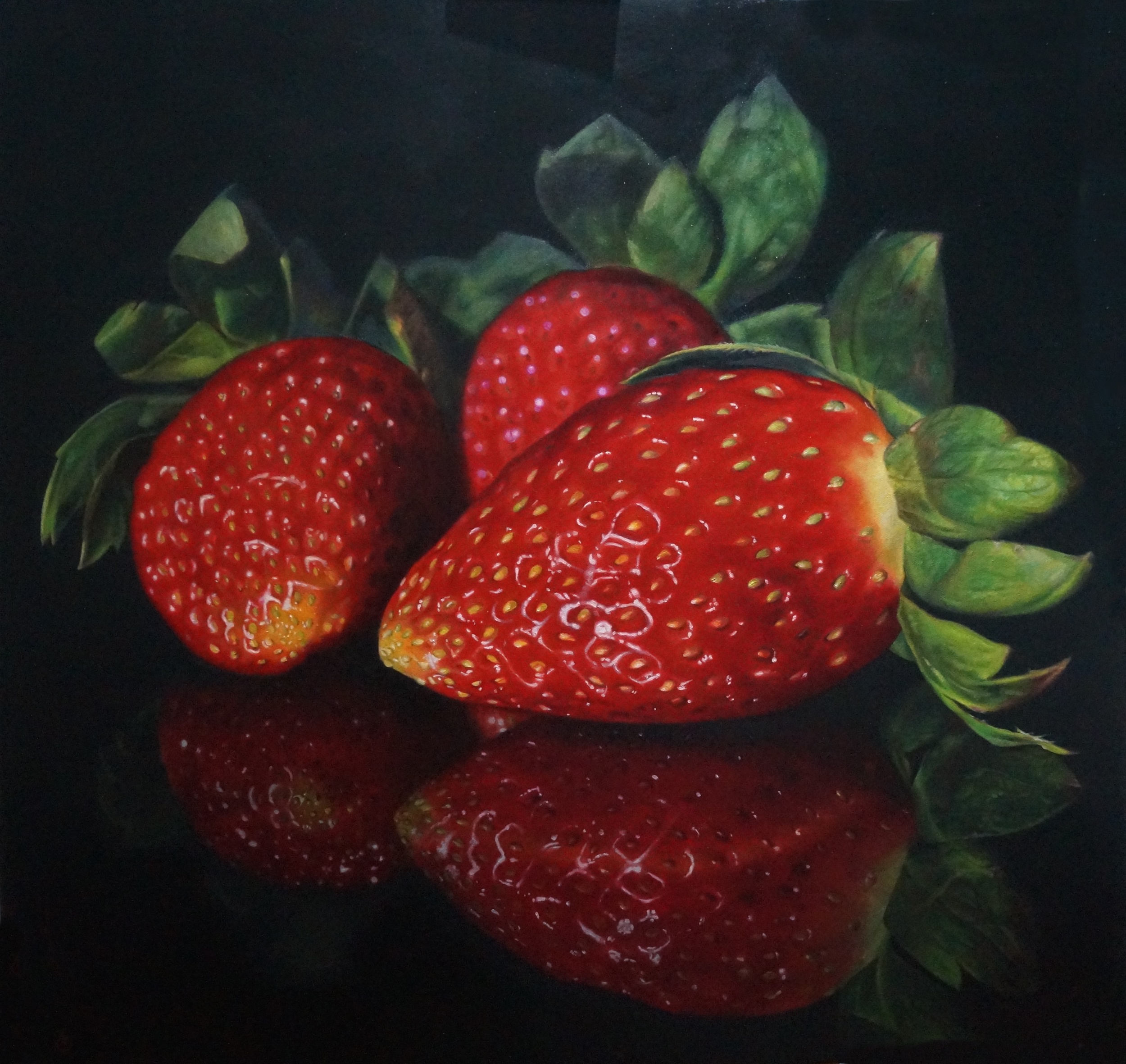 Zanetti A Luscious Strawberries 106 x 111cm 2016.jpg