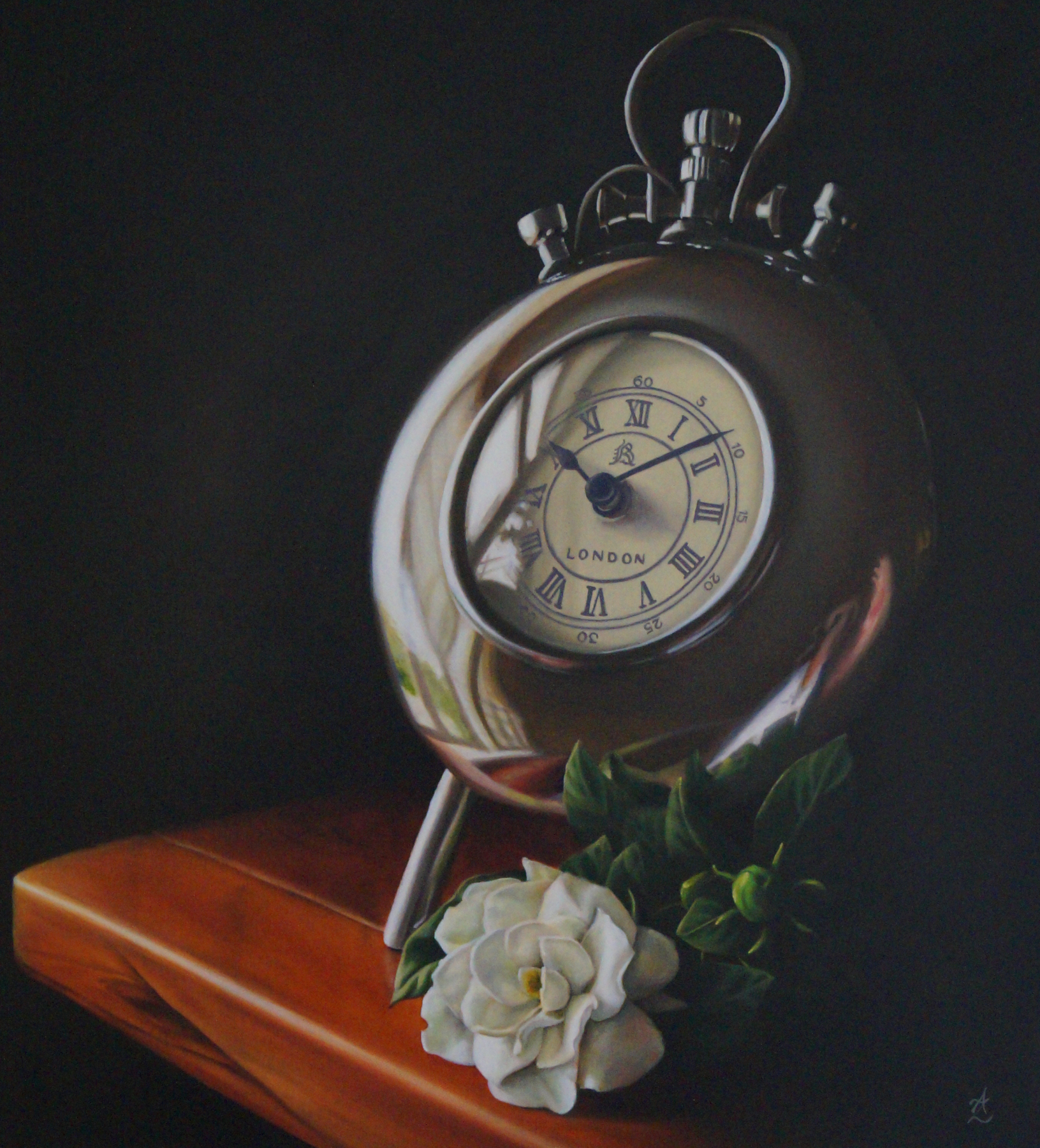 Time well spent_Anne-Marie Zanetti_63x69cm_$1900.jpg