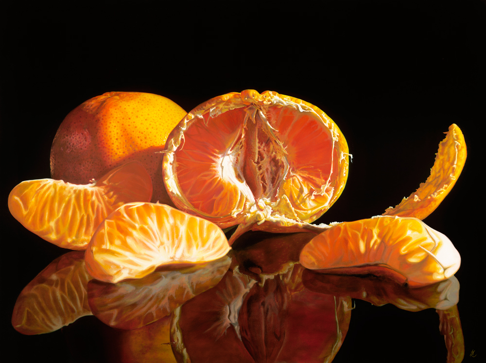 Mandarin 7 - Limited Edition Reproduction of 100Image size 67 x 50cms