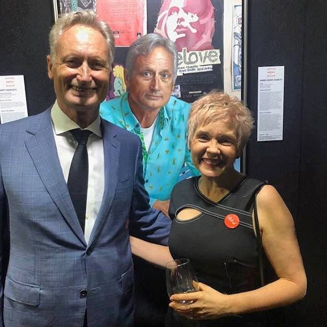 Feeling very grateful to be a part of the @brisbaneportraitprize 2019!  Thank you so much Scott Hutchinson for being such a gracious and enthusiastic sitter!! Congrats to all the winners announced last night - especially 4 artists who I know personally and whose work I so admire @bronart @bmphotoblog @tommacbethart @joelrea  You can view the winners gallery along with judges notes via this link    https://www.brisbaneportraitprize.org/winners-gallery  Thanks to the Brisbane Portrait Prize committee and to all the sponors for organising a  great award night!