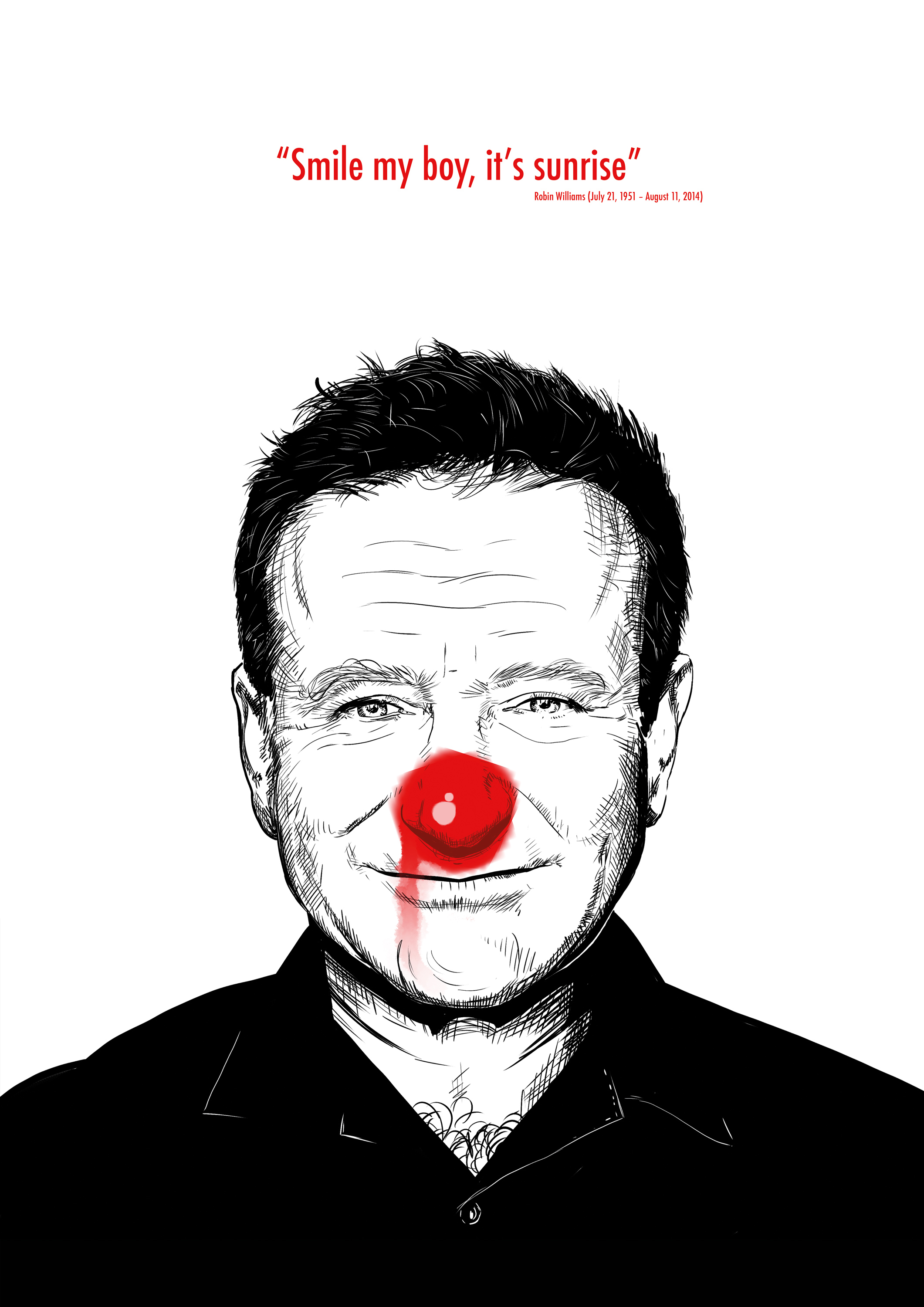 Robin Williams - Smile my boy, it's sunrise