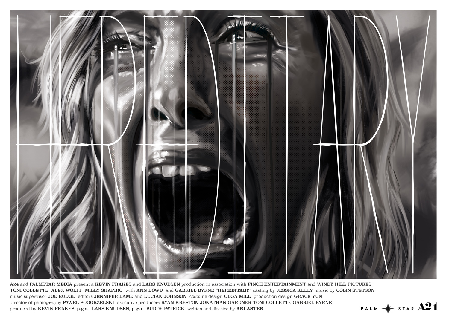 Hereditary Black and White Variant