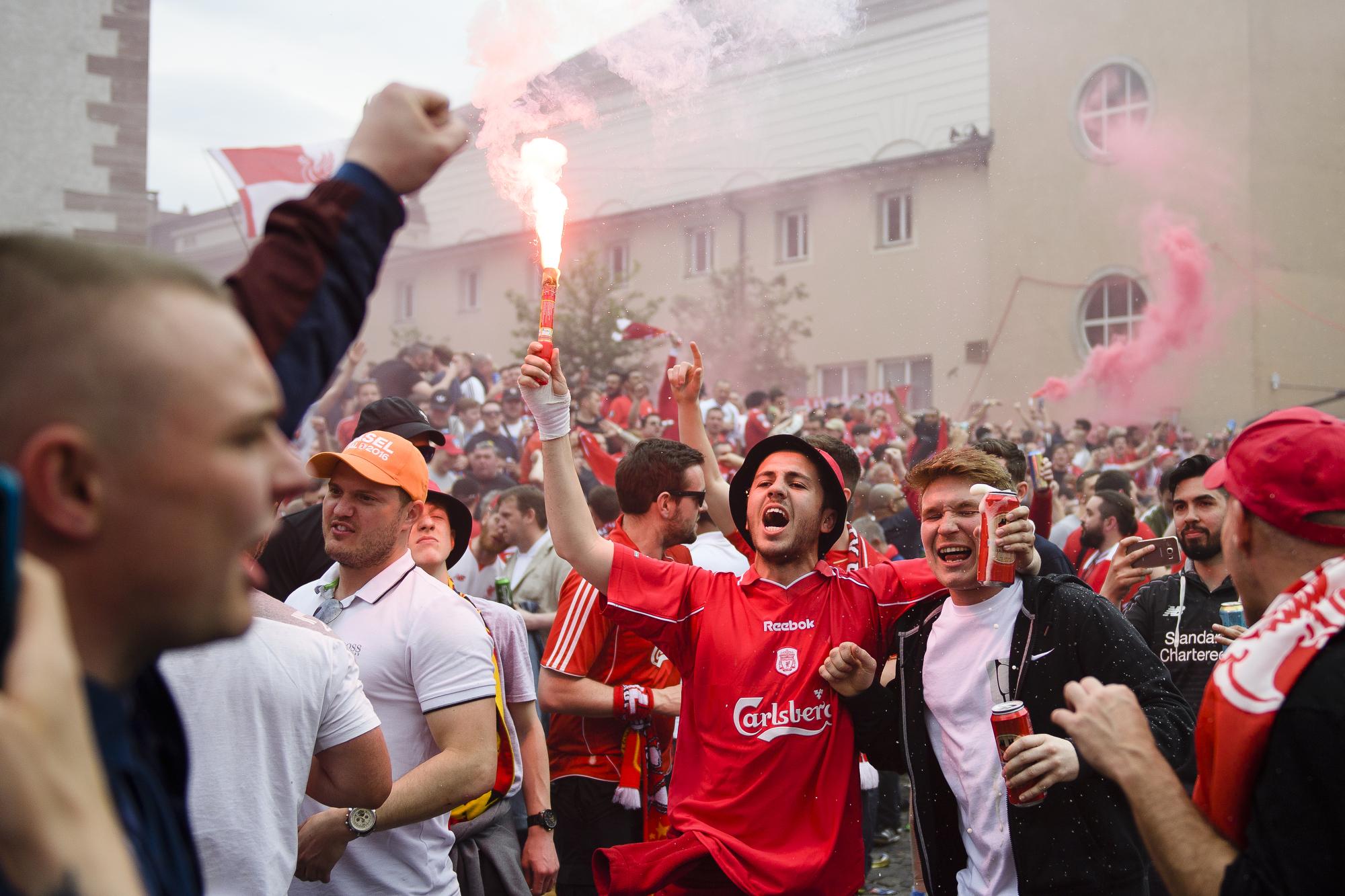 SOCCER EUROPA LEAGUE FINAL LIVERPOOL SEVILLA