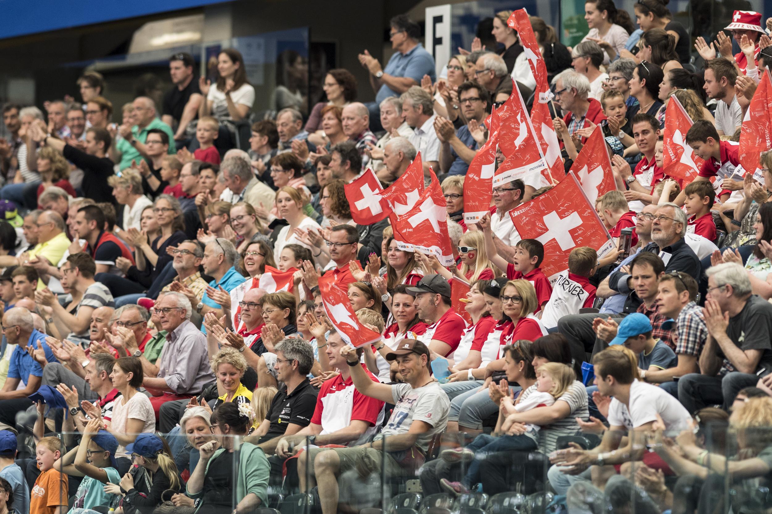 SWITZERLAND EUROPEAN GYMNASTICS CHAMPIONSHIPS