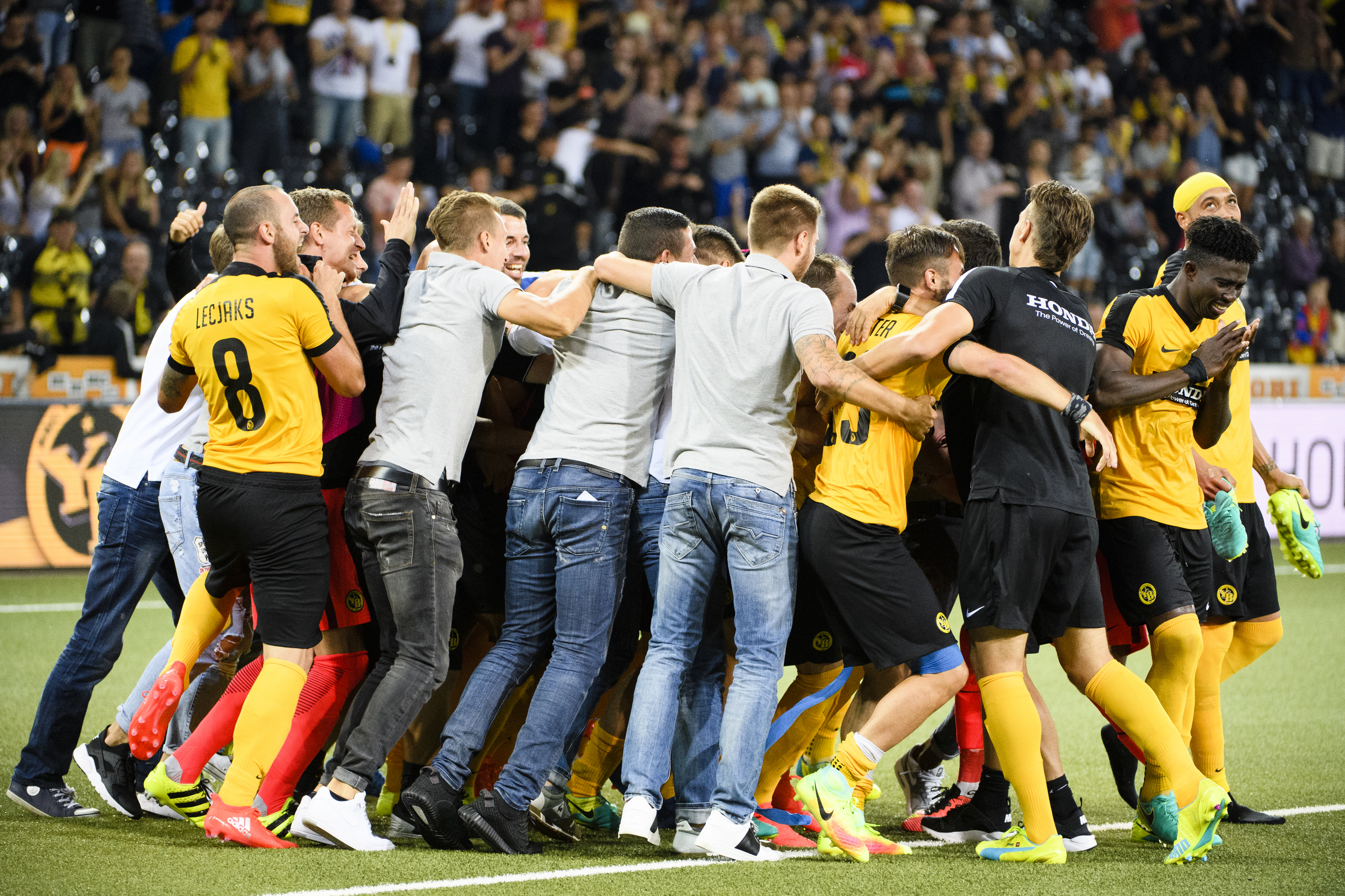 SWITZERLAND SOCCER UEFA CHAMPIONS LEAGUE YOUNG BOYS SHAKHTAR
