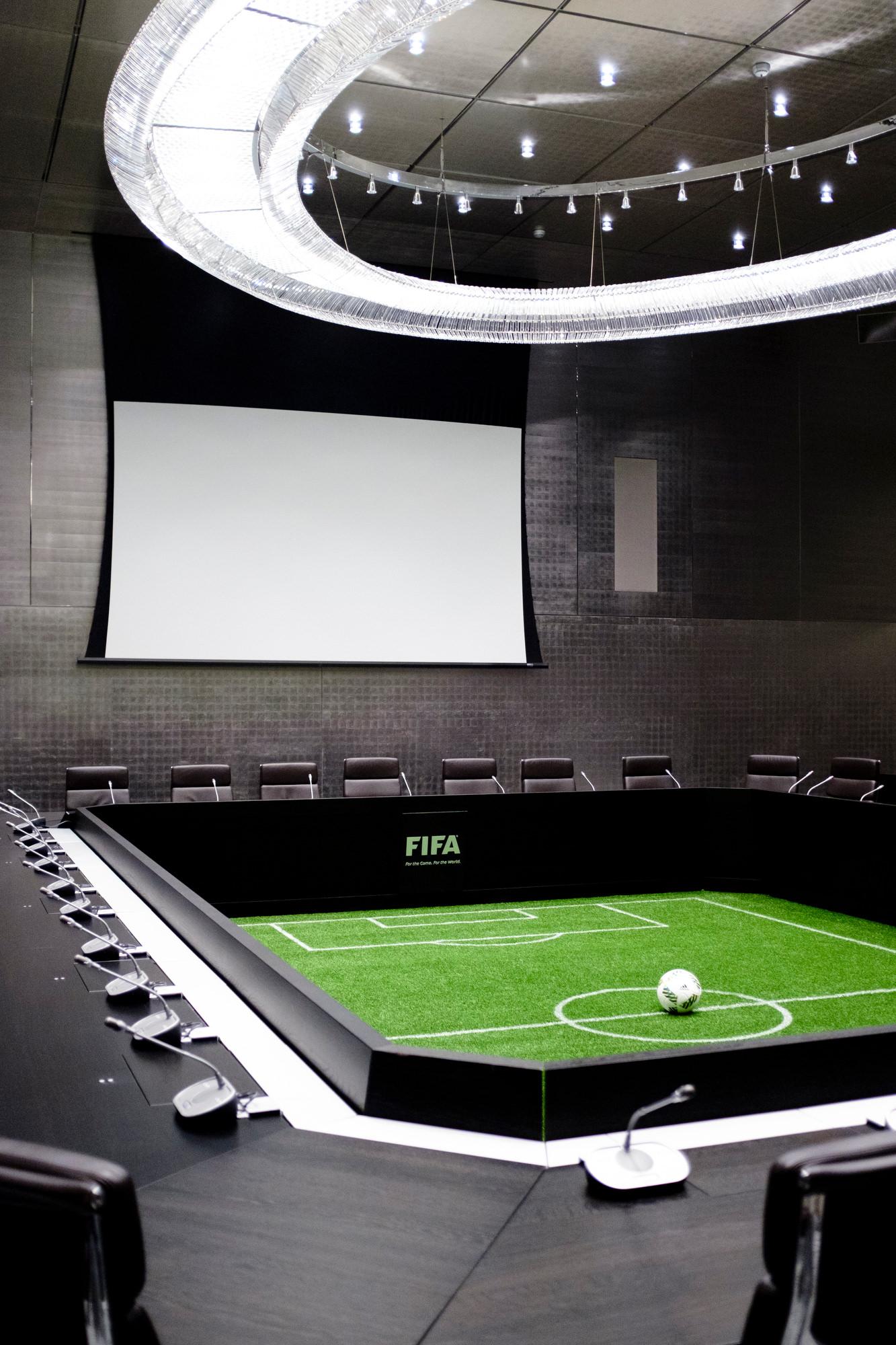 SCHWEIZ FIFA HEADQUARTER ZURICH