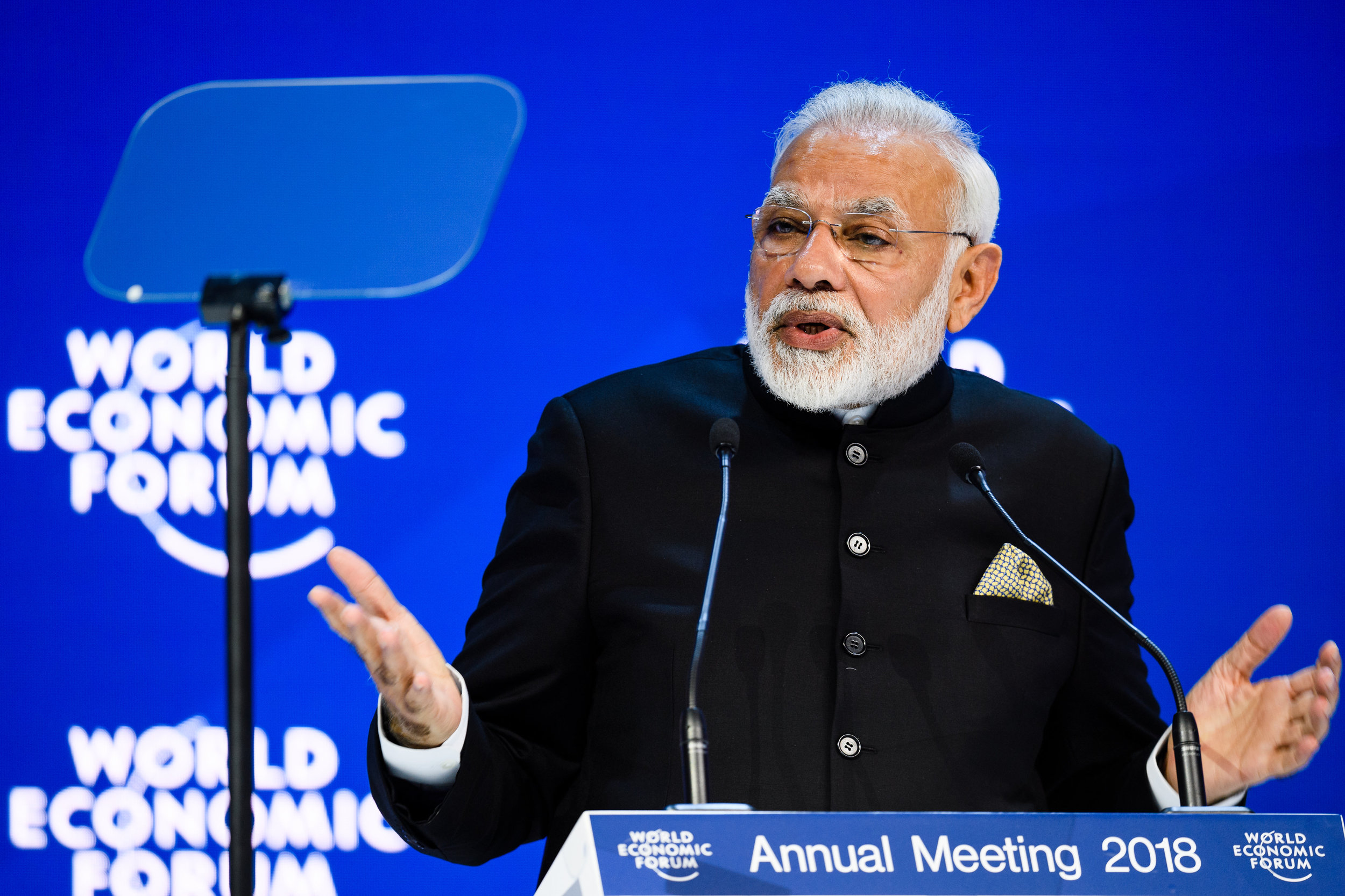 Opening Plenary with Narendra Modi, Prime Minister of India