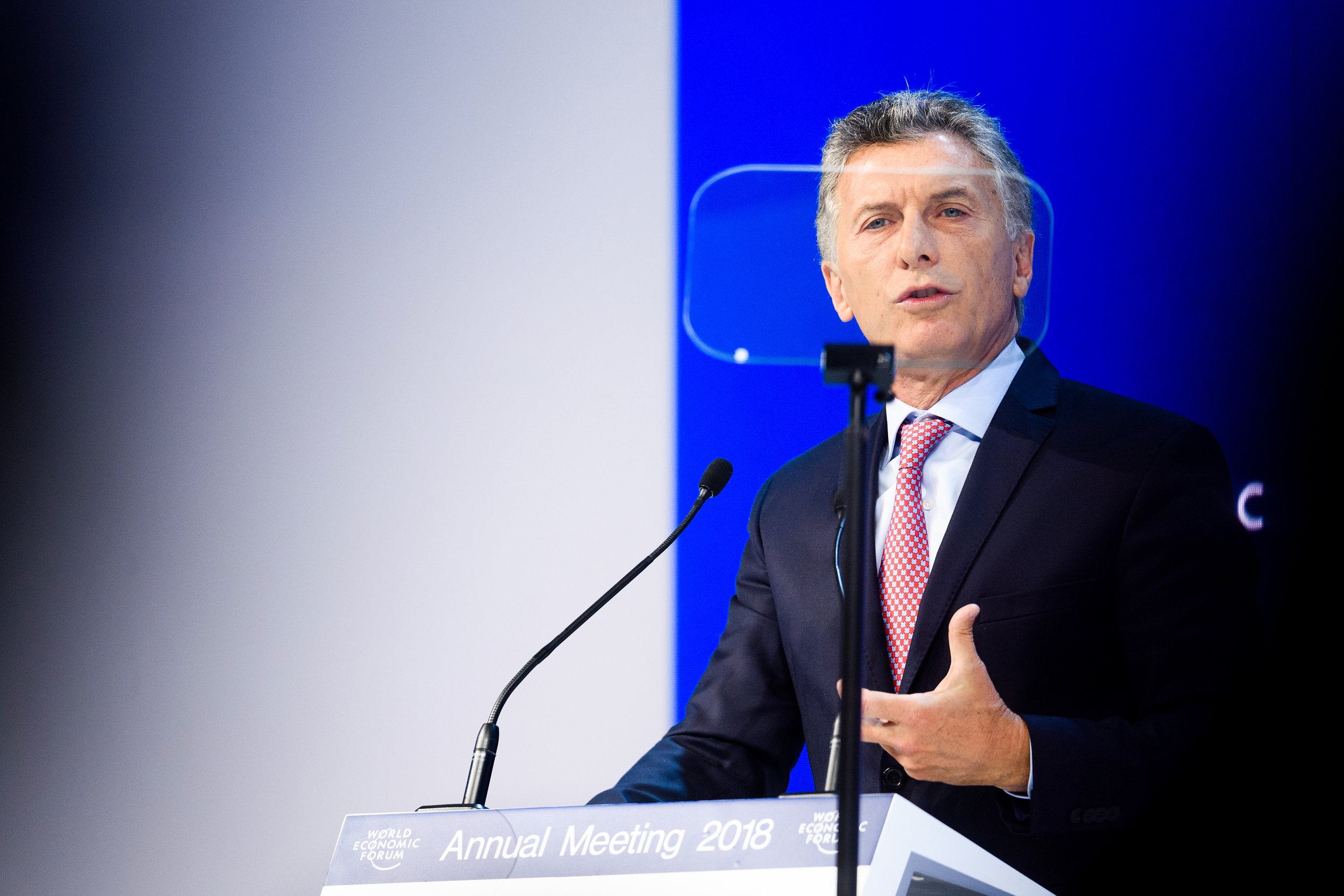 Special Address by Mauricio Macri, President of Argentina and Ch