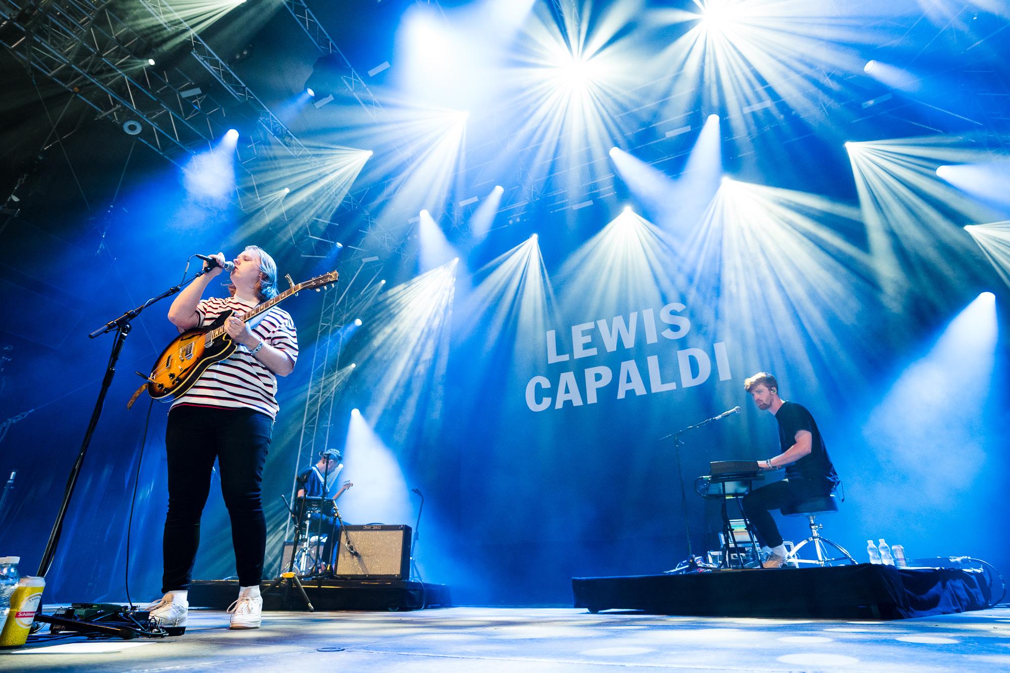 Lewis Capaldi auf Sternenbühne am OpenAir St.Gallen