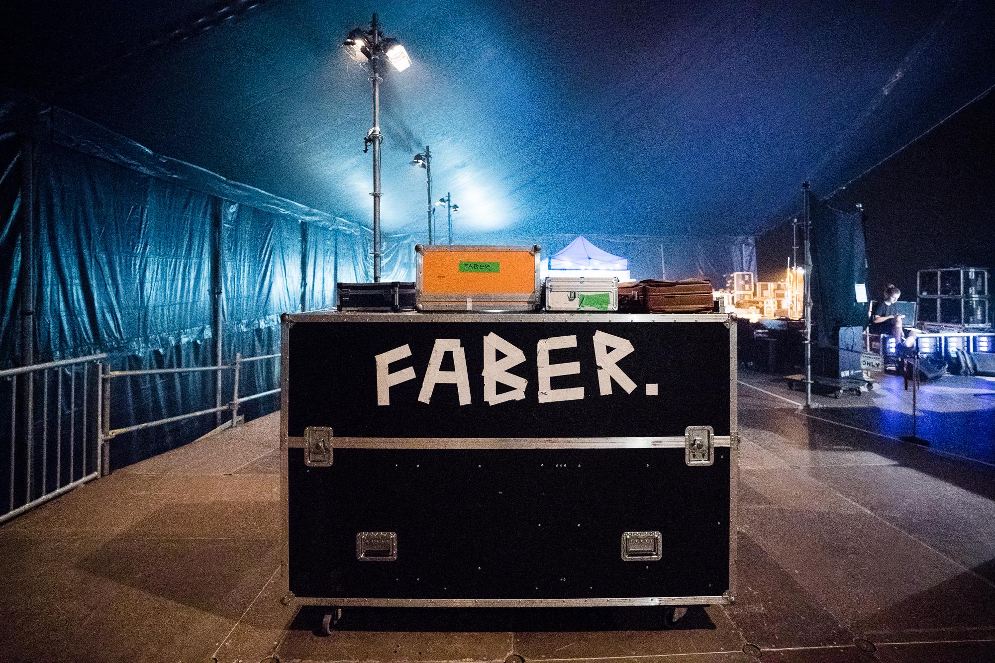 Faber auf Sternenbühne am OpenAir St.Gallen