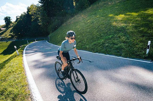 @natalinaneuenschwander on her bike.