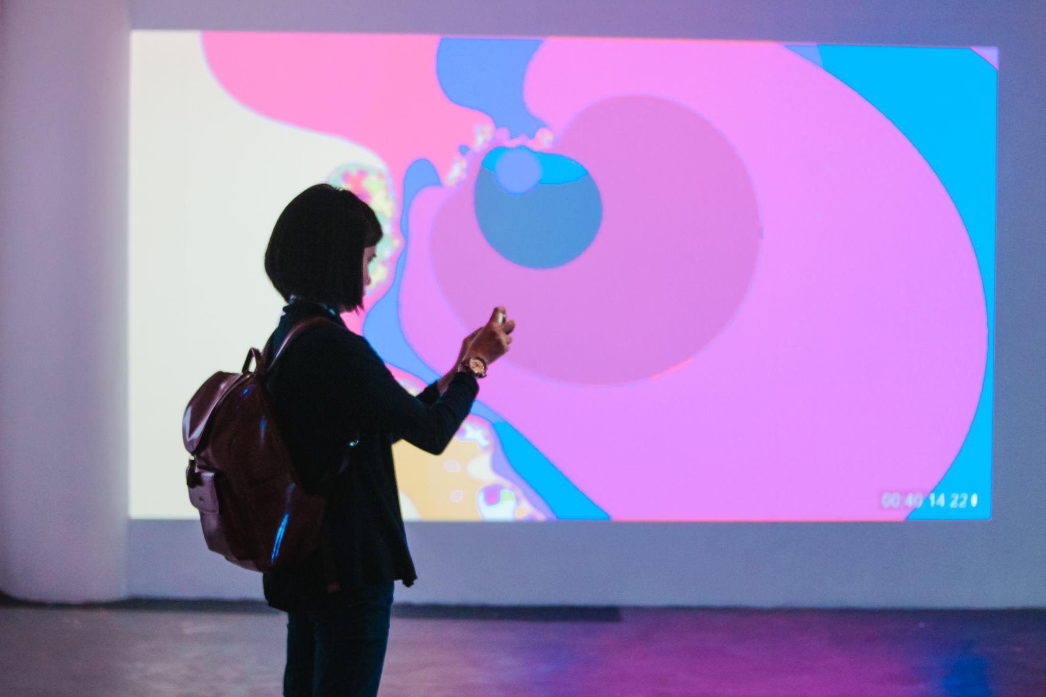 Video Art Show by RV Sanchez and Ernest Diño