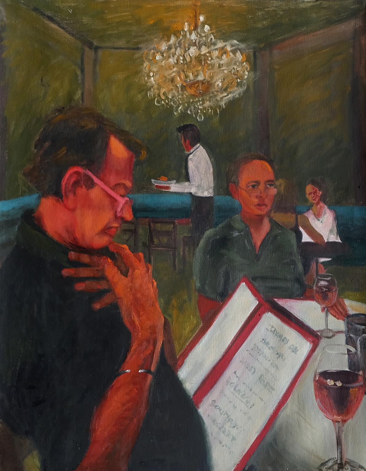 Dinner at Un Deux Trois