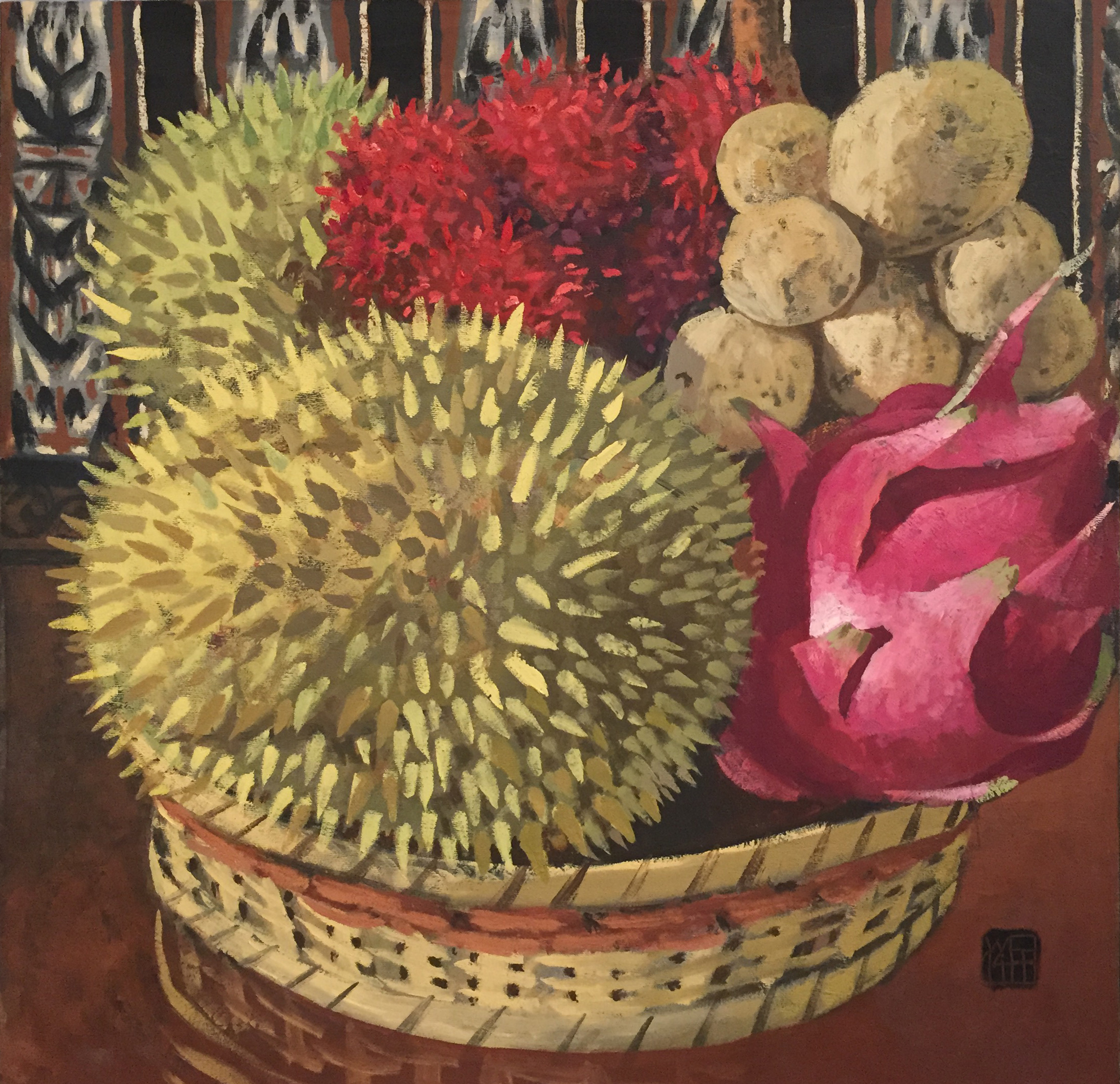 Small Still Life with Durian