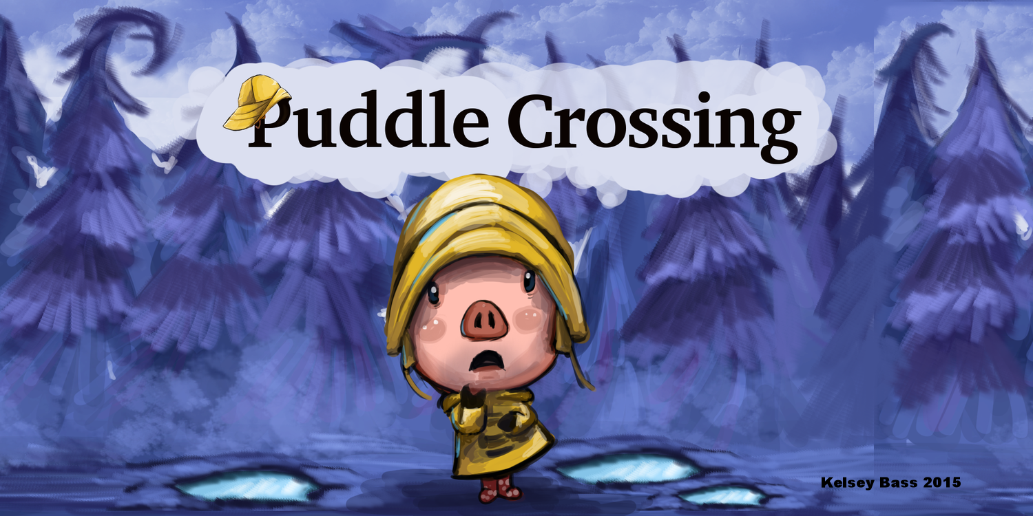 """Title Screen """"Puddle Crossing"""""""