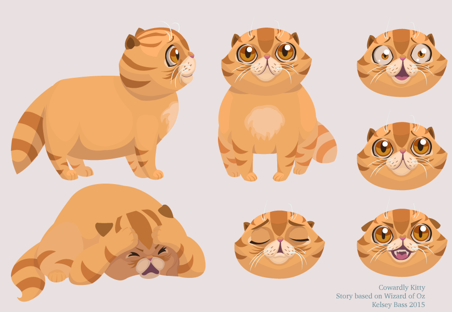 Cowardly Kitty character sheet