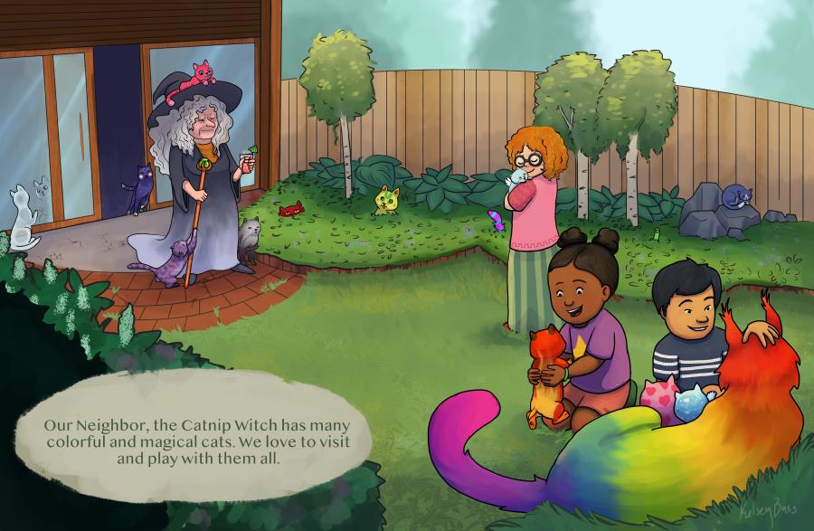 Catnip Witch
