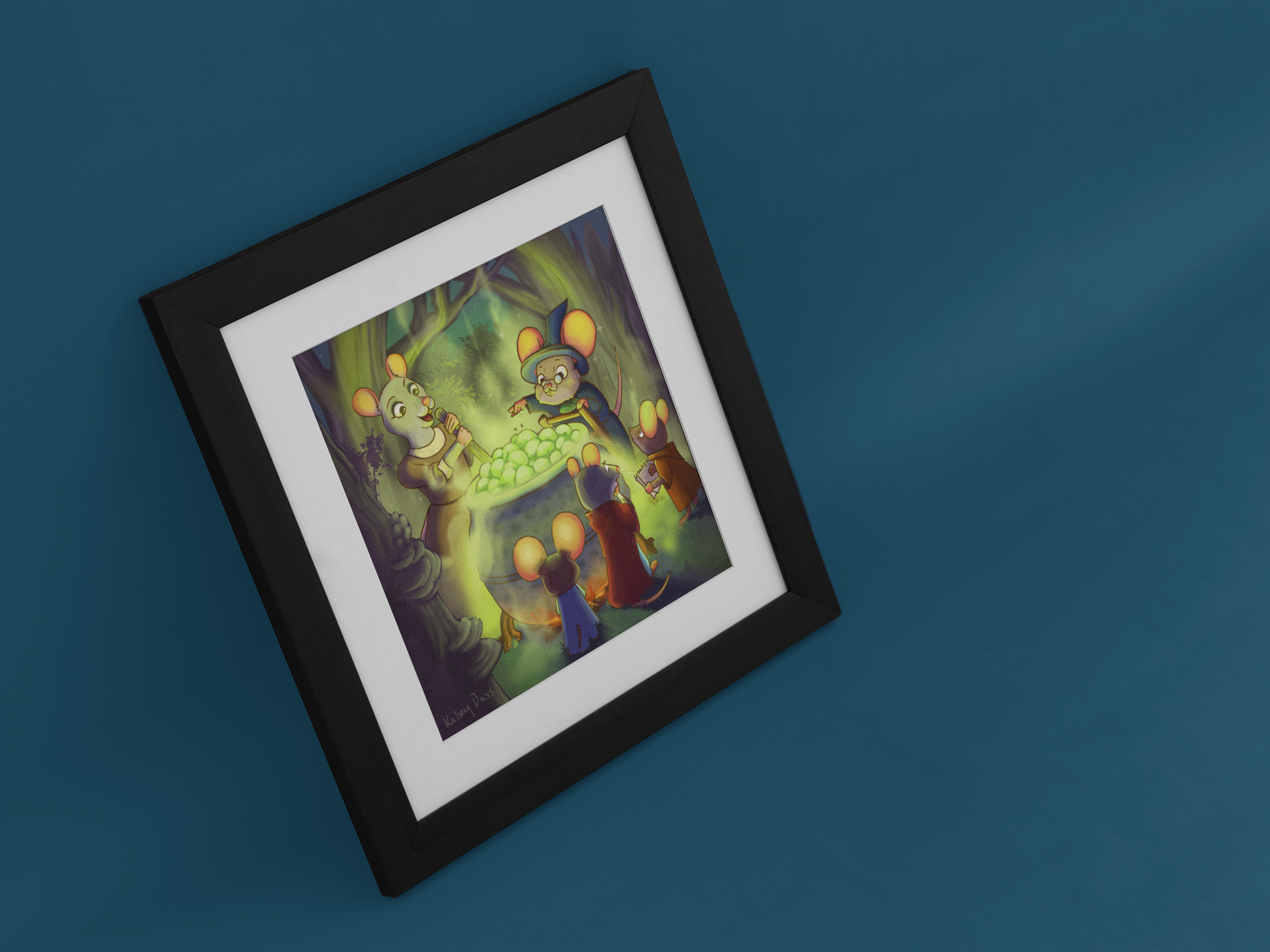 mockup-of-an-angled-art-print-on-a-pastel-color-wall-a15283.png