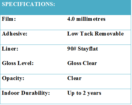 Clear STX Specs