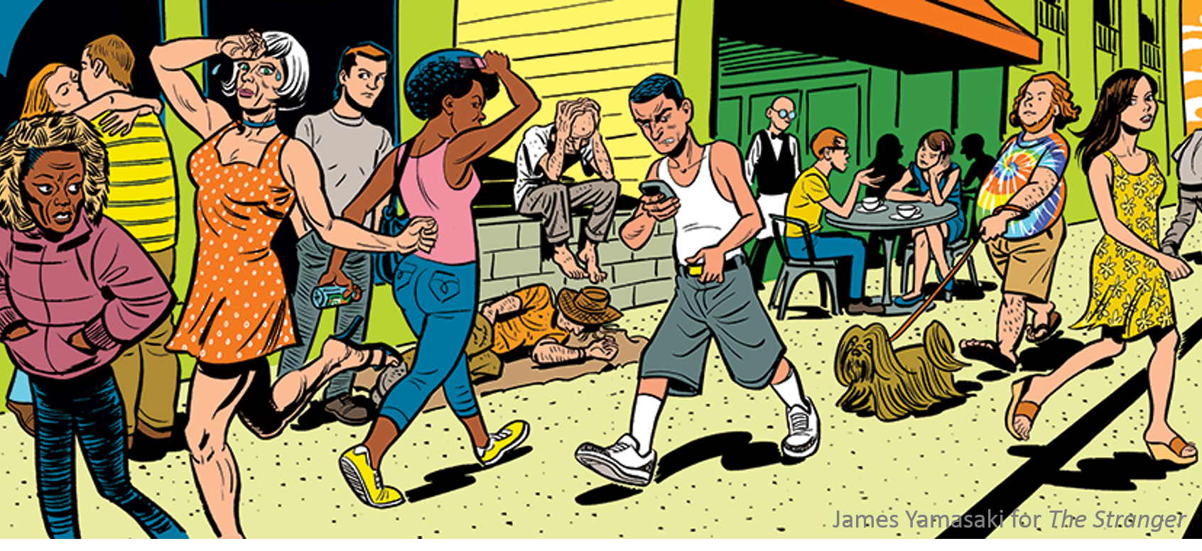 James Yamasaki, The Stranger city summer