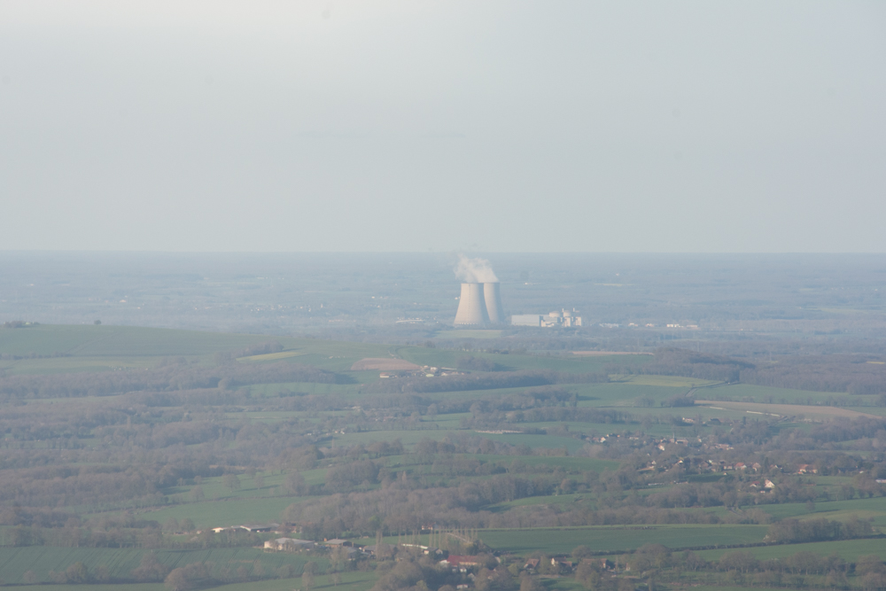 Just your friendly, neighborhood nuclear power plant!