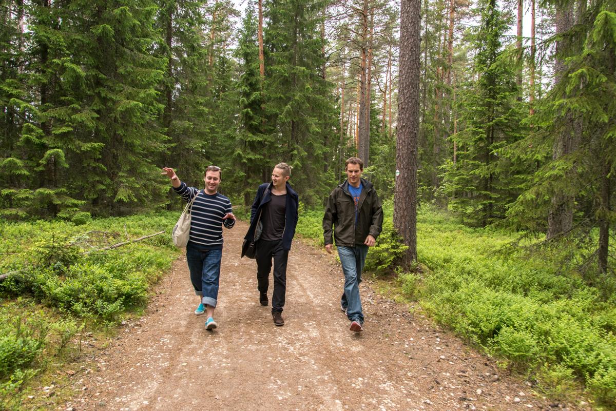 Harper, Carl, and Neil