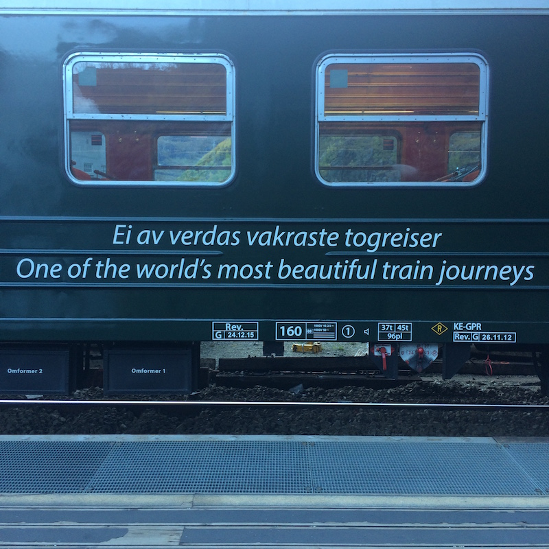 a train wouldn't lie