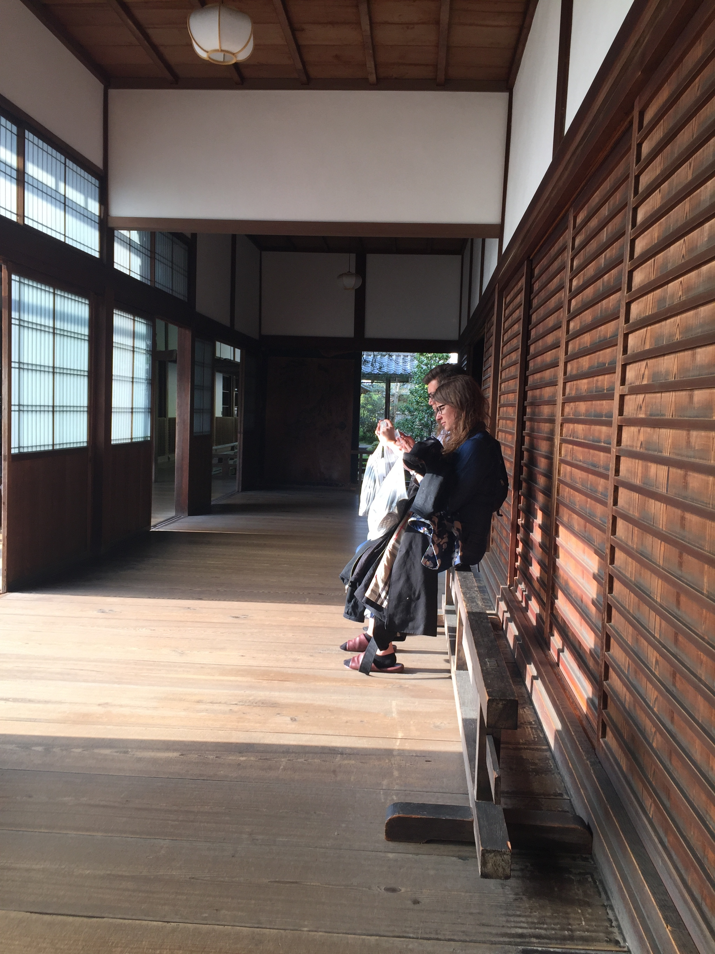 next day ... time for some zen gardens, shrines, and more shrines