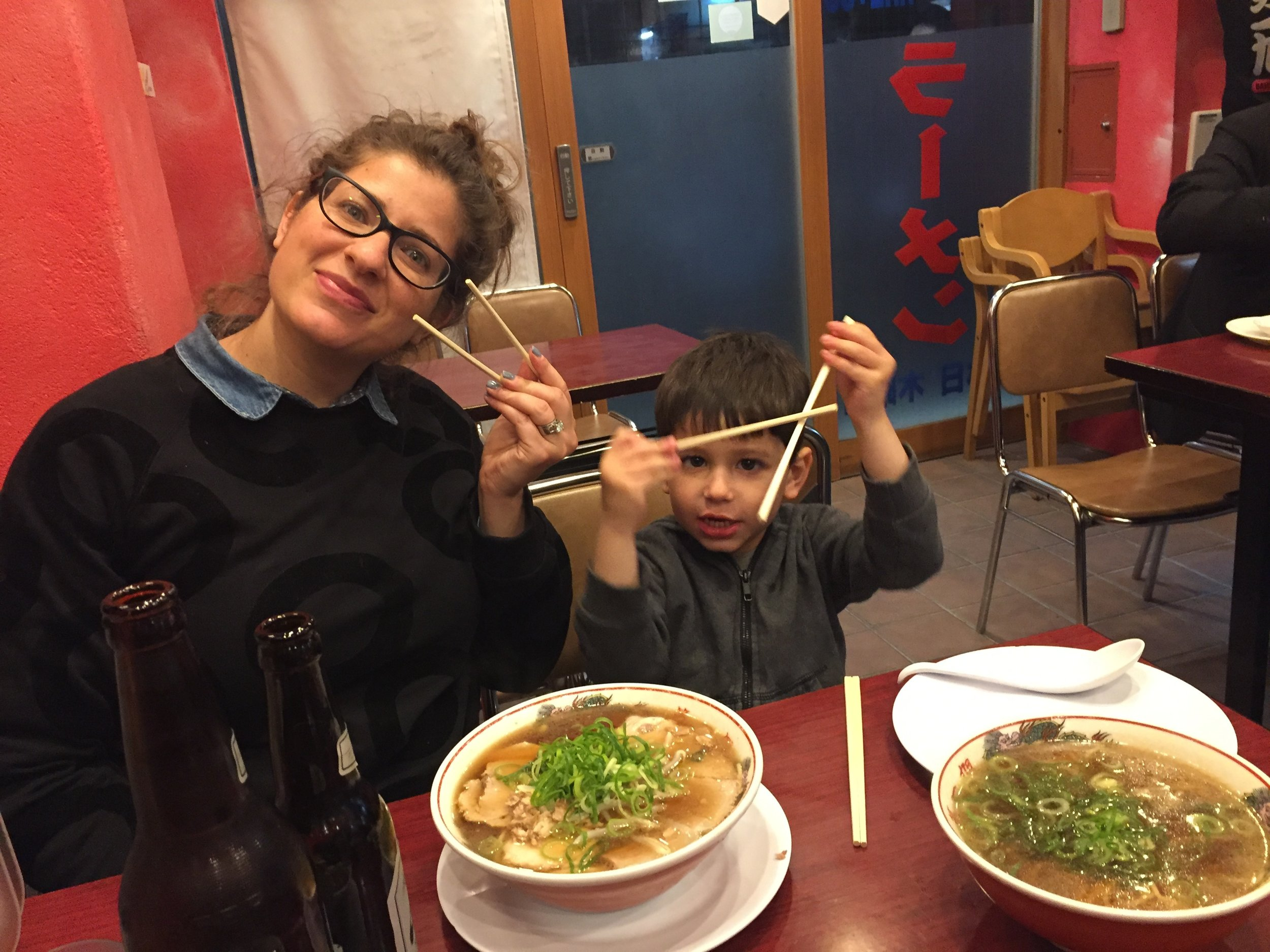 maybe the best ramen of the trip!