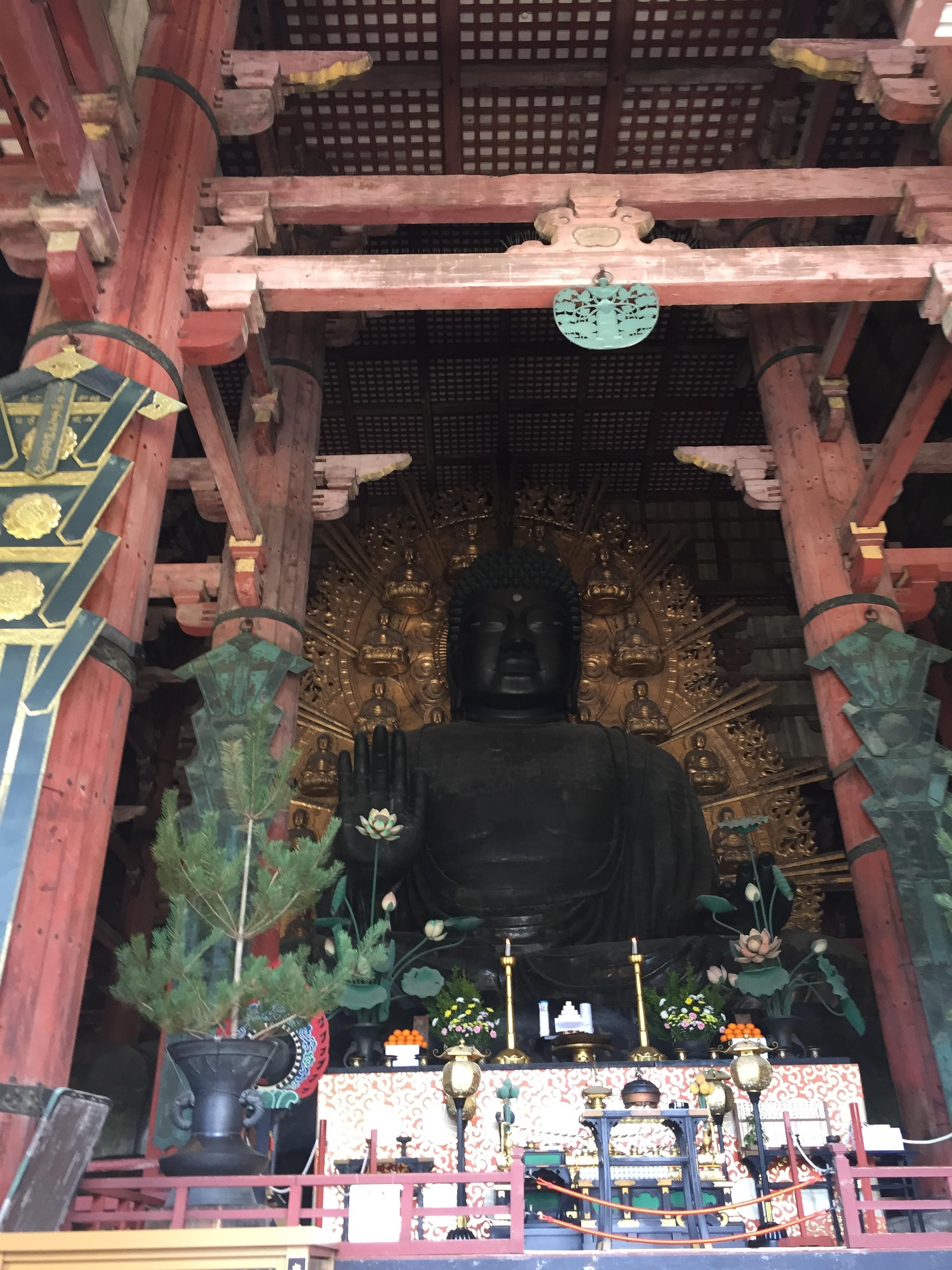 the giant buddha of Nara