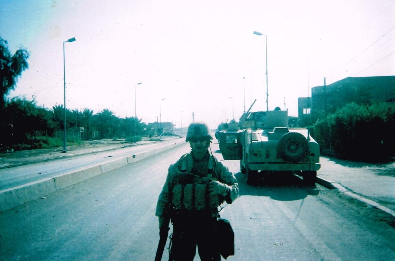 Stewart Duardo. Fallujah, Iraq. 2004. Photographer Unknown