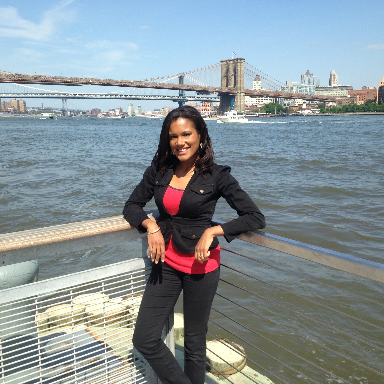 Kristina Hodelin. Manhattan, New York. July 10, 2015