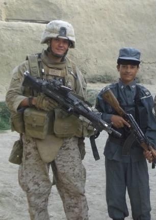 Travis Kiser. Afghanistan, 2008. Photographer Unkown