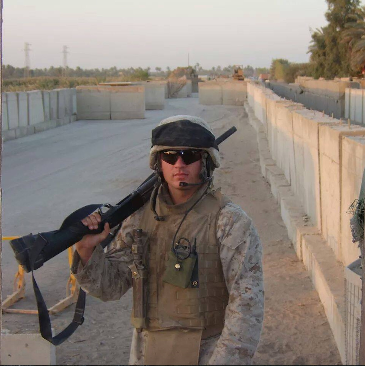 Don Swanson. Fallujah, Iraq, 2005. Photographer Unknown