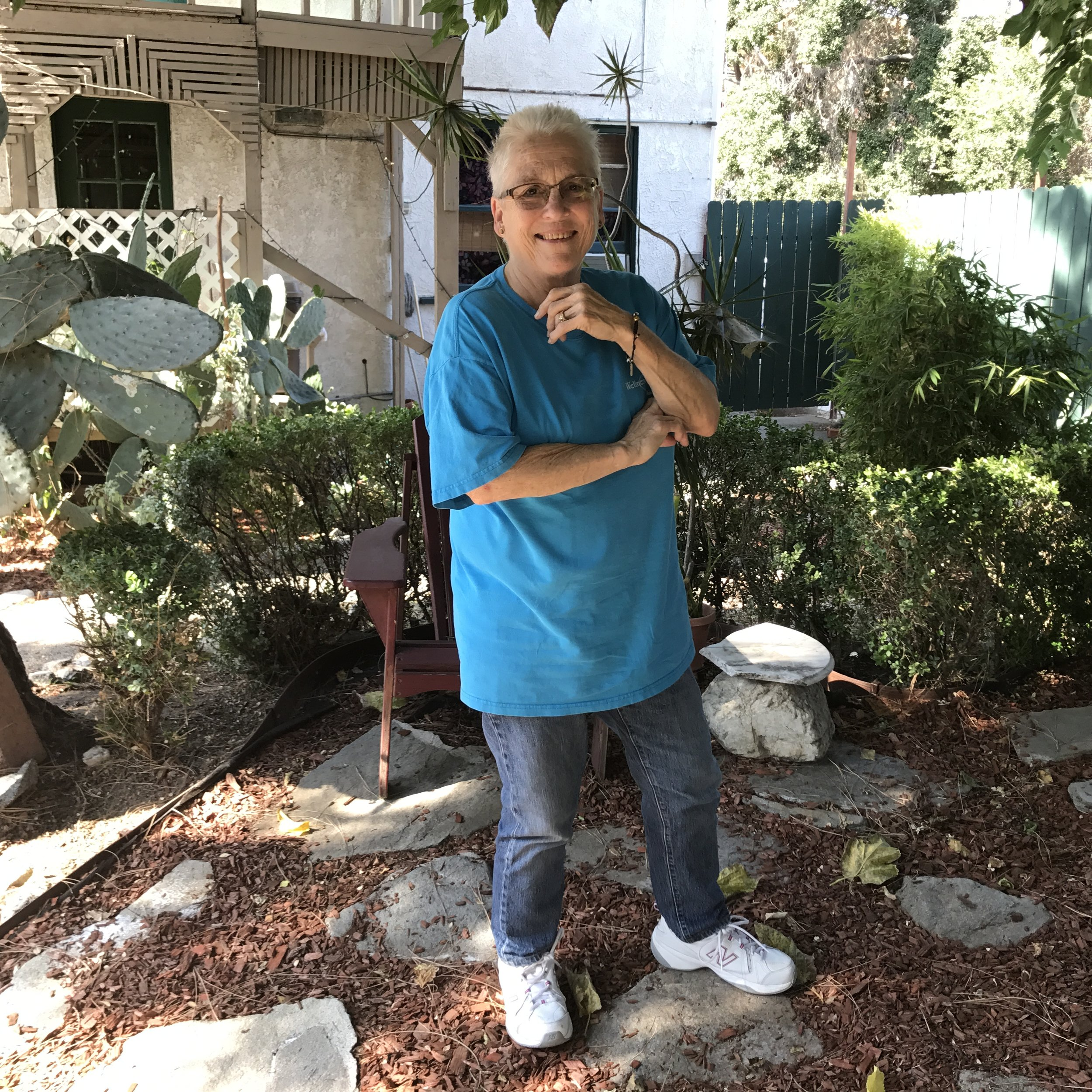 Kathy Lynch. Glendale, California.July 8, 2017.