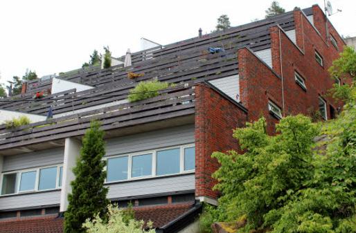 Terrasseblokken med 16 boenheter