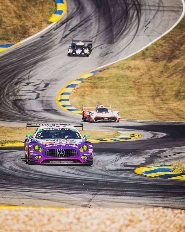 Let's get after it AMG! Last race of the season here @roadatlanta for the #MotulPetitLeMans and the IMSA Weathertech Championship. Race starts at 12pm EST live on IMSA.tv or on @nbc - 10 hours of endurance racing for your viewing pleasure. 🏁🏎💪